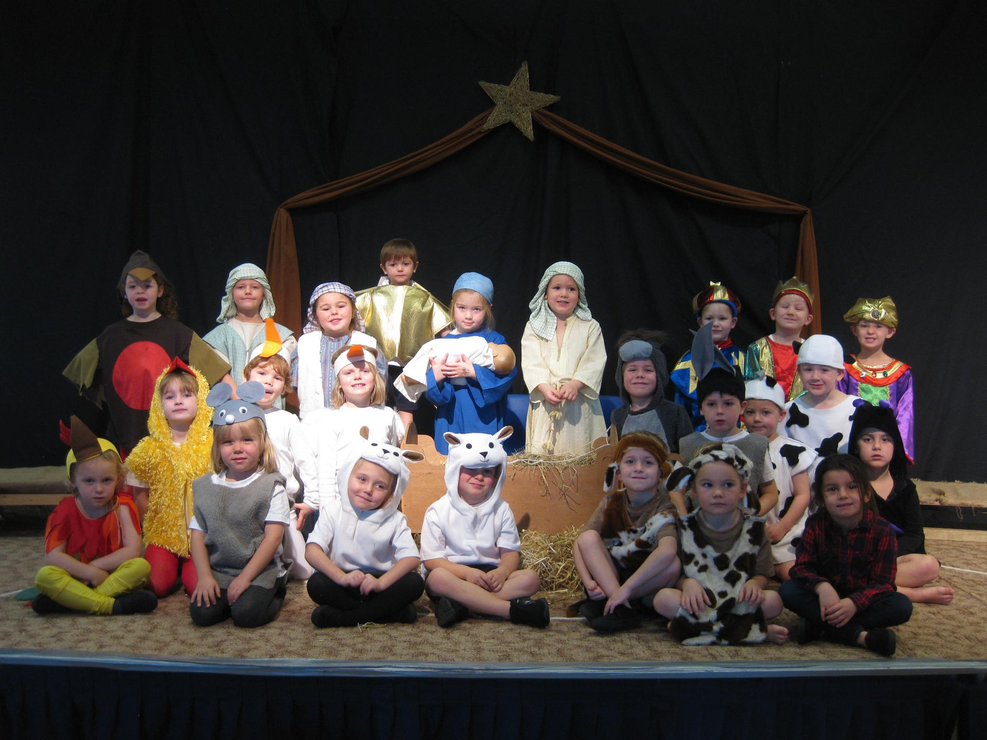 Westbourne Nativity Away in a Manger 2018